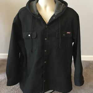 Dickies Hooded Work Coat Sz XL 46-48